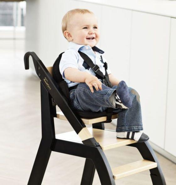 כסא אוכל מעץ לתינוק | MINUI HANDYSITT