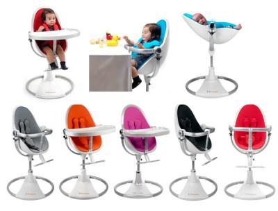 כסא אוכל Fresco chrome של bloom