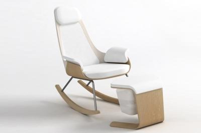 כסא הנקה מתנדנד