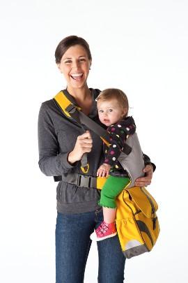 תיק עגלה עם מנשא לתינוק