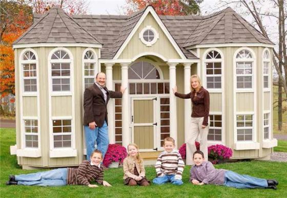 בית חצר לילדים